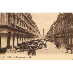 75 - Paris [75] Paris - La Rue de Castiglione.