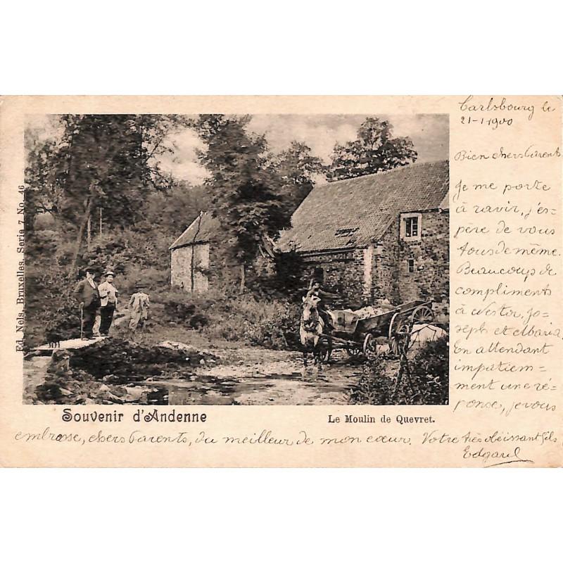 ABAO Namur Andenne - Le Moulin de Quevret.