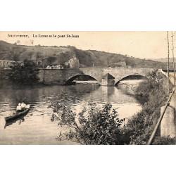 ABAO Namur Anseremme - La Lesse et le pont St-Jean.