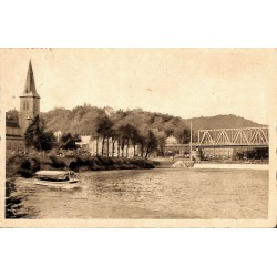 ABAO Namur Anseremme - Vue sur le Pont et le Déversoir.