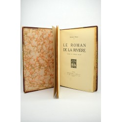 1900- PONSOT Georges. LE ROMAN DE LA RIVIERE. Illustrations de Georges DELAW.