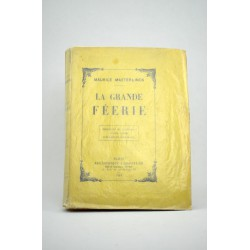 ABAO Grands papiers MAETERLINCK, Maurice. LA GRANDE FEERIE.