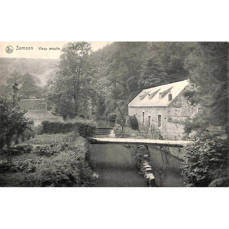 Namur Andenne - Samson. Vieux moulin.