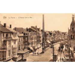 Flandre occidentale La Panne - L'Avenue de la Mer.