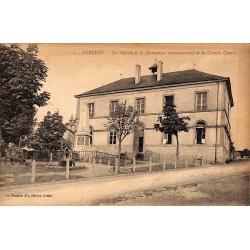 ABAO Luxembourg Bouillon - Corbion. La Mairie et le Monument commémoratif de la Grande Guerre.