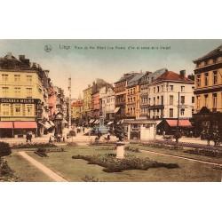 ABAO Liège Liège - Place du Roi Albert (Rue Vinave d'Ile et statue de la Vierge)