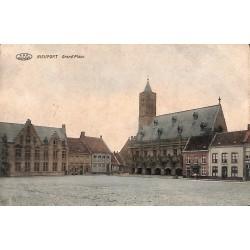 Flandre occidentale Nieuwpoort - Nieuport. Grand'Place.