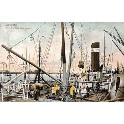 ABAO Anvers Anvers - Travail à bord d'un navire.