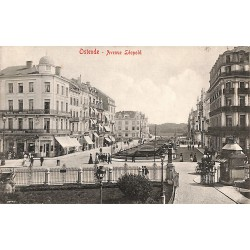 Flandre occidentale Ostende - Avenue Léopold.
