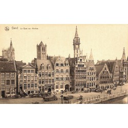 ABAO Flandre orientale Gand - Le Quai aux Herbes.
