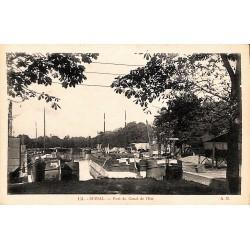 88 - Vosges [88] Epinal - Port du Canal de l'Est.