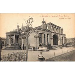 88 - Vosges [88] Epinal - Façade de la Maison Romaine.