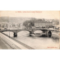 88 - Vosges [88] Epinal - Le Pont Carnot et le Musée Départemental.