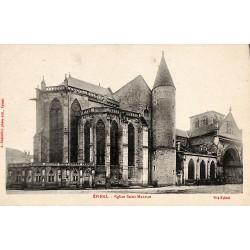 88 - Vosges [88] Epinal - Eglise Saint Maurice.