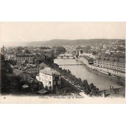 88 - Vosges [88] Epinal - Perspective sur la Moselle.