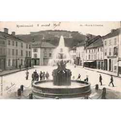 88 - Vosges [88] Remiremont - Place de la Courtine.