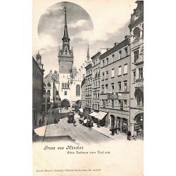 ABAO Allemagne München - Altes Rathaus vom Thal aus.