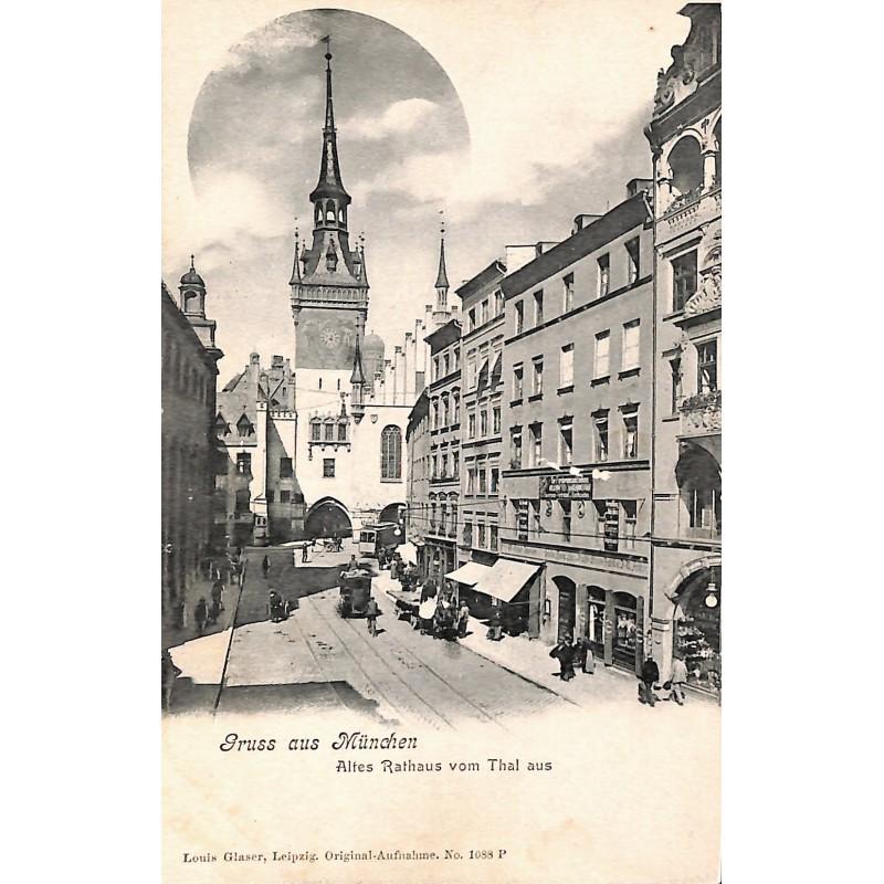 Allemagne München - Altes Rathaus vom Thal aus.