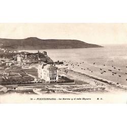 Espagne Fuenterrabia - La Marina y el cabo Higuero.