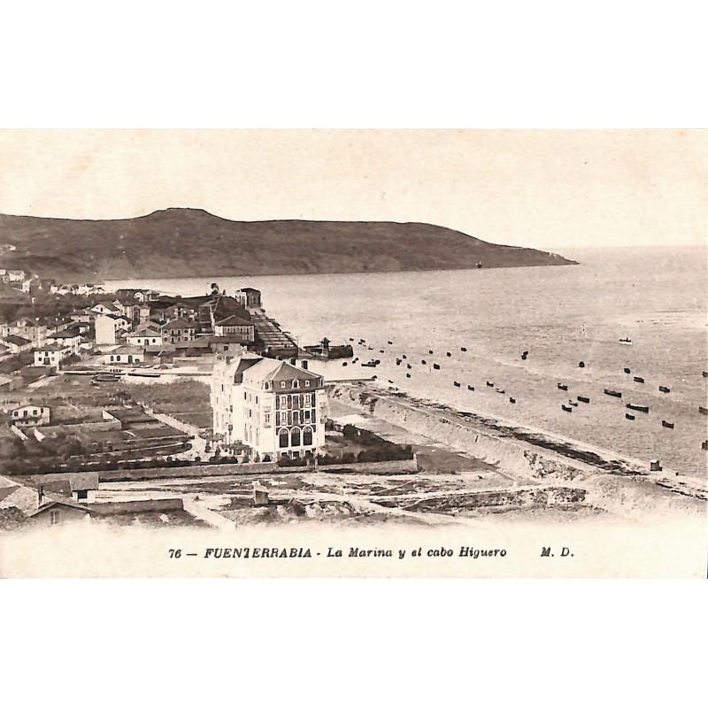 ABAO Espagne Fuenterrabia - La Marina y el cabo Higuero.