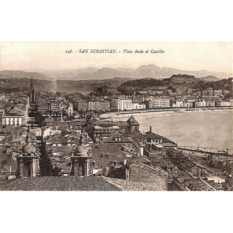 ABAO Espagne San Sebastian - Vista desde el Castillo.