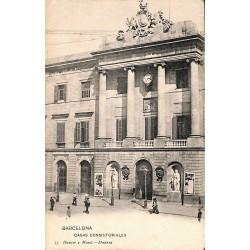 Espagne Barcelona - Casas consistoriales.
