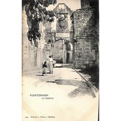 Espagne Fuenterrabia - La Puerta.