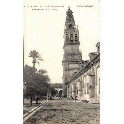 Espagne Cordoba - Patio de los Naranjos y torre de la Catedral.