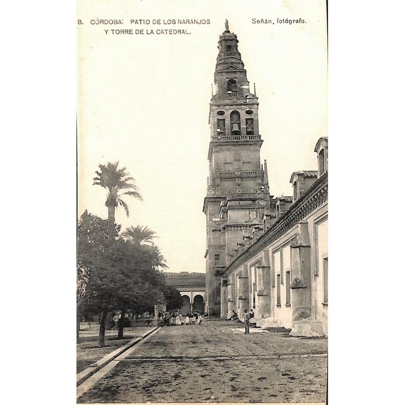 ABAO Espagne Cordoba - Patio de los Naranjos y torre de la Catedral.