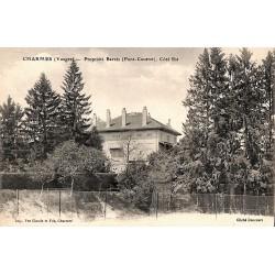 ABAO 88 - Vosges [88] Charmes - Propriété Barrès (Pont-Coutret). Côté Est.