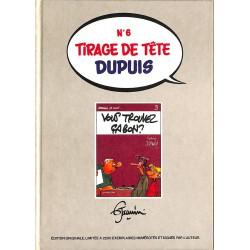 Bandes dessinées Germain et nous ... 03 Tirage de tête Dupuis n°6