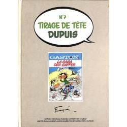 ABAO Bandes dessinées Gaston 14 Tirage de tête Dupuis n°7