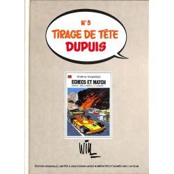 Bandes dessinées Tif et Tondu 30 Tirage de tête Dupuis n°5