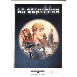 ABAO Bandes dessinées La Métaphore du Papillon Coffret 1 à 3 + Ex-Libris.