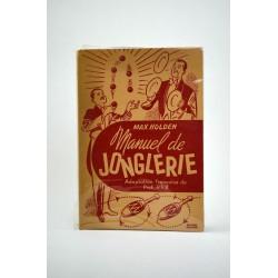 ABAO 1900- HOLDEN, Max. MANUEL DE JONGLERIE.