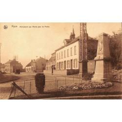 Hainaut Mons - Hyon. Monuments aux Morts pour la Patrie.
