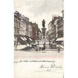 ABAO Liège Liège - La Fontaine et la rue Vinave d'Ile.