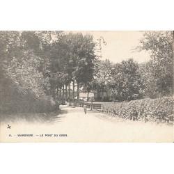 Liège Waremme - Le pont du Geer.