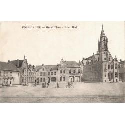 Flandre occidentale Poperinge - Grand Place.