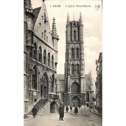 ABAO Flandre orientale Gand - L'église Saint-Bavon.