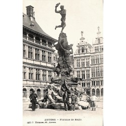 ABAO Anvers Anvers - Fontaine de Brabo.