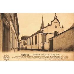 Hainaut Enghien - Eglise et collège des Augustins.