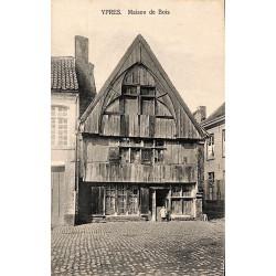 Flandre occidentale Ypres - Maison de Bois.