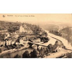 ABAO Luxembourg Bouillon - Pont de France et Château des Moines.
