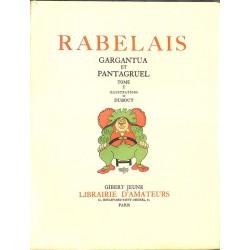 Livres illustrés Rabelais (François) - Gargantua et Pantagruel. 2 tomes.
