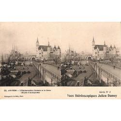 ABAO Anvers Anvers - L'Embarcadère flottant et le Steen.