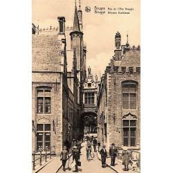 Flandre occidentale Bruges - Rue de l'Ane Aveugle.