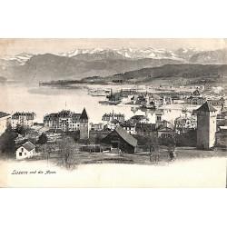 ABAO Suisse Luzen - und die Alpen.