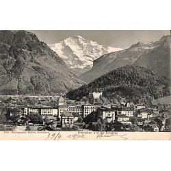 Suisse Interlaken - und die Jungfrau.