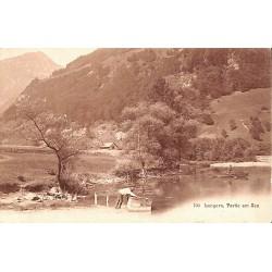 Suisse Lungern - Partie am See.